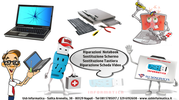 Assistenza Notebook Usb Informatica