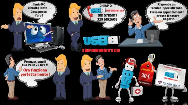 Assistenza Computer Usb Informatica