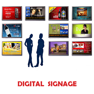 Pubblicità Digital Signage