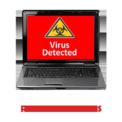 Pubblicità Rimozione Virus